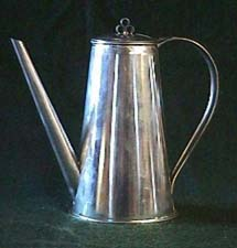 Coffee serving pot, click to see details