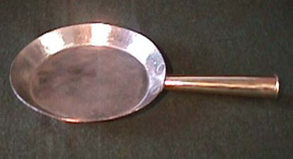 CopperFrying pan, click to see details